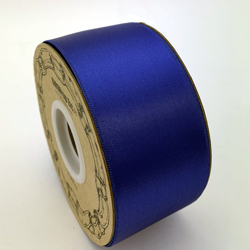 "Royal Blue Satin Fabric Ribbon - 2"" x 50 Yards"