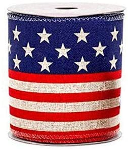patriotic-ribbon-stars-stripes