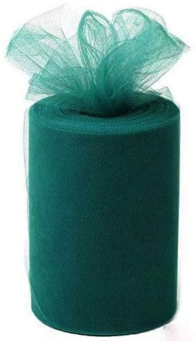 "Tulle for Weddings, Decoration - 100 Yard Rolls, 6"" Wide Variation"