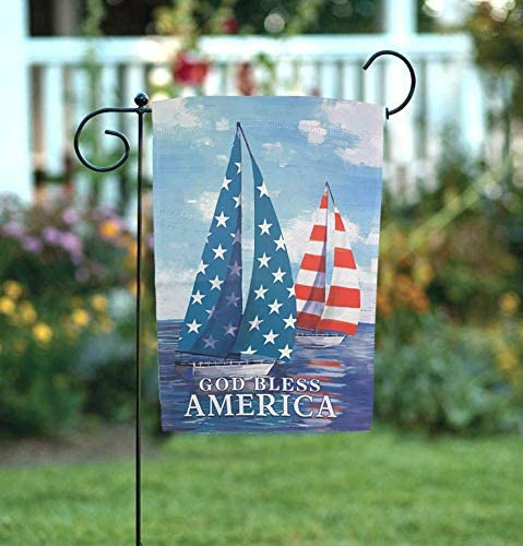 patriotic-sailboats-garden-flag