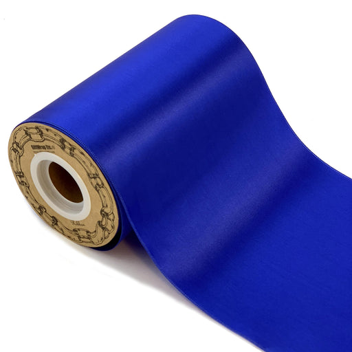 "Grand Opening Royal Blue Ribbon - 6"" x 25 Yards"