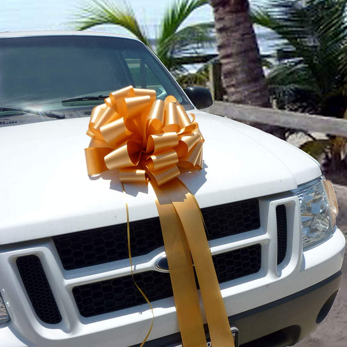 "Car Bows, Lage Gift Decorations -16""x42"""