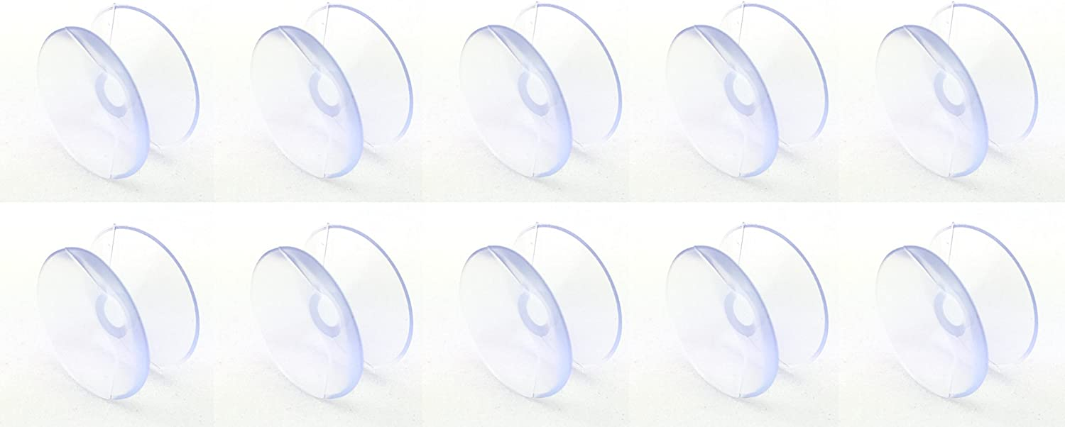 Small Double Sided Suction Cups - 20 mm, Set of 10