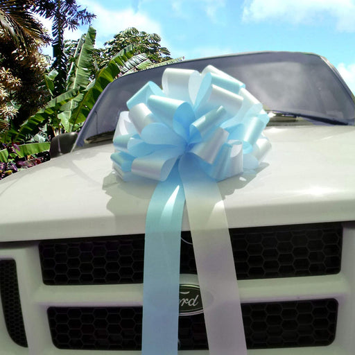 "Car Bows, Large Gift Decorations, Mixed Colors -16""x32"