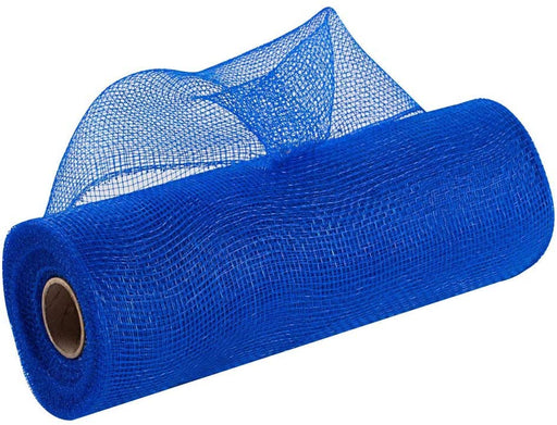 "Royal Blue Wreath Deco Mesh - 10"" x 10 Yards"