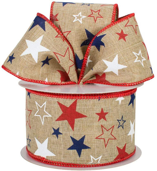 burlap-ribbon-red-white-blue-stars