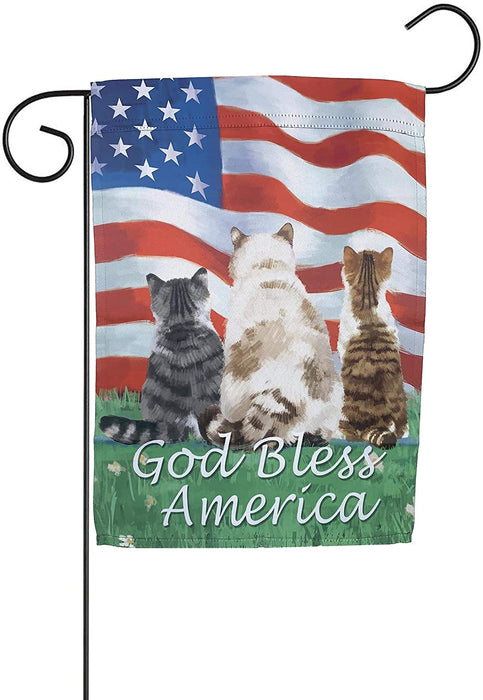 Patriotic-Cat-Conference-Yard-Flag