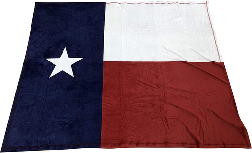 "Texas Flag Throw Blanket for Couch - 50"" x 60"", Lone Star State"