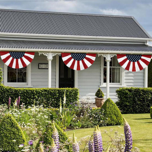 Stars and Stripes Bunting Flag – 3' x 6'