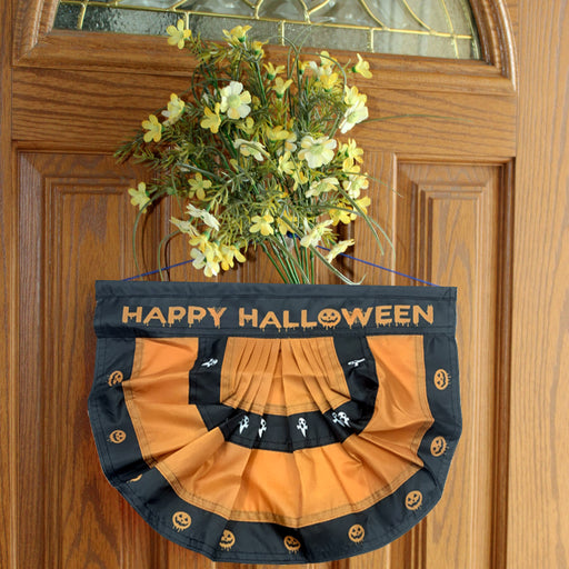 "Festive Happy Halloween Bunting Flag – 10""x16"""