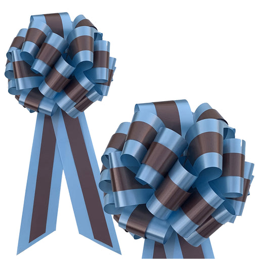 blue-brown-stripe-pull-bows