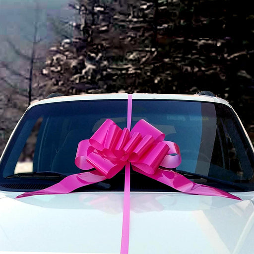 big-fuchsia-car-bow