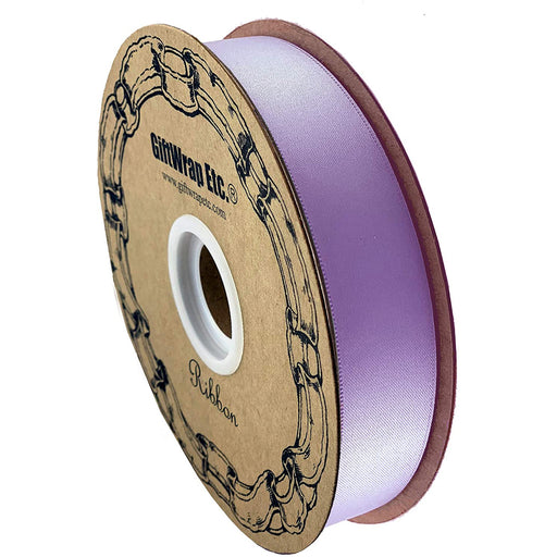 "Lavender Satin Fabric Ribbon - 1"" x 100 Yards"