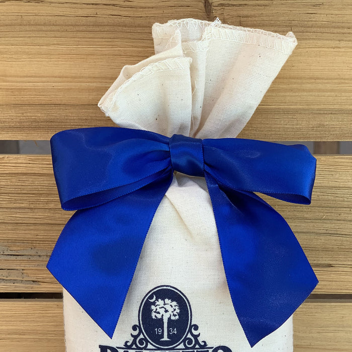 "Pre-Tied Royal Blue Satin Bows - 4 1/2"" Wide, Set of 12"