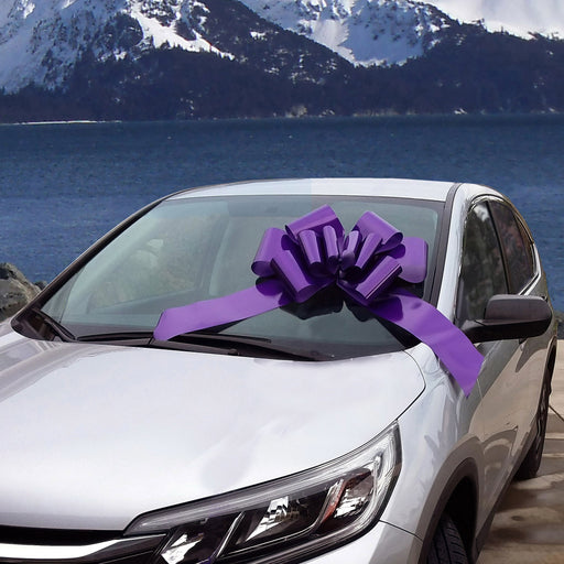 big-purple-car-bow