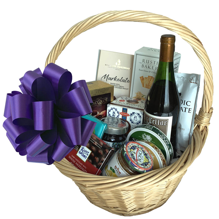 large-purple-gift-baskets-bows