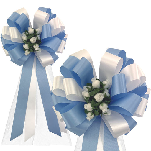 light-blue-and-white-wedding theme
