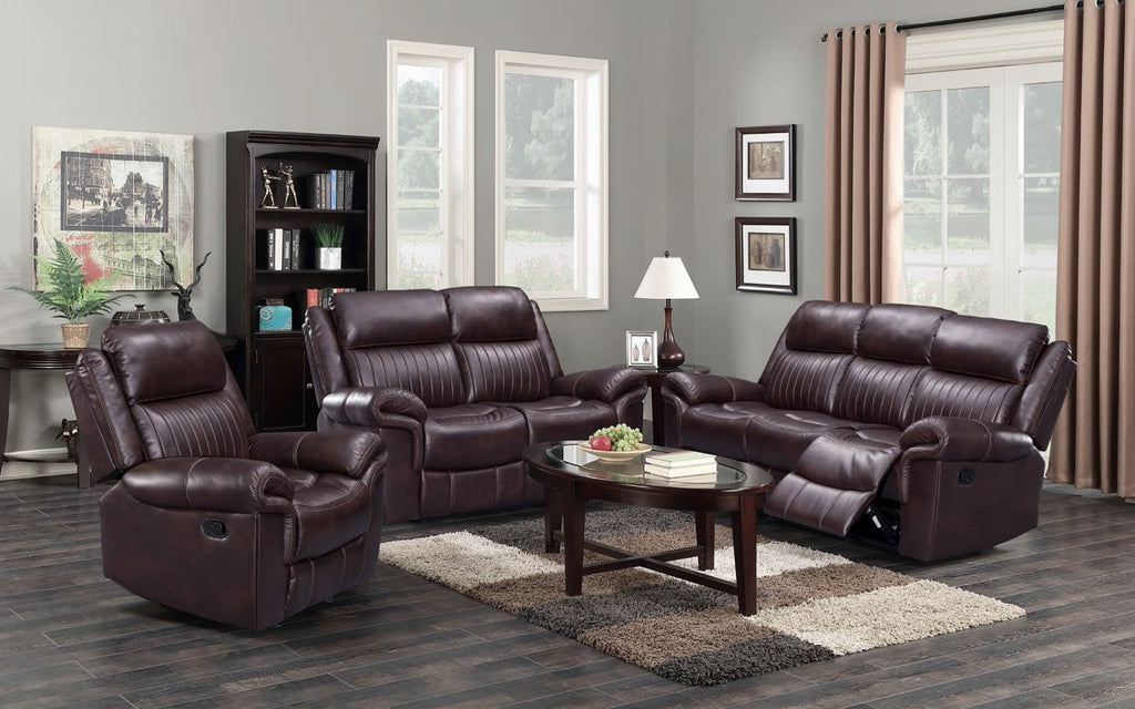 Carlington 3 piece Lounge suite with swivel rocker
