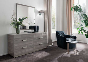 Iris 5 piece bedroom suite - high gloss