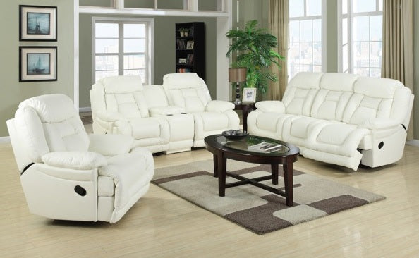 Monte Carlo 3 Piece Lounge suite with console