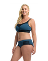 THE NURSING LOUNGE BRA: Midnight Blue - Full Embrace