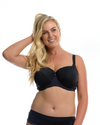 THE ESSENTIAL BALCONETTE BRA: Imperial Purple - Full Embrace