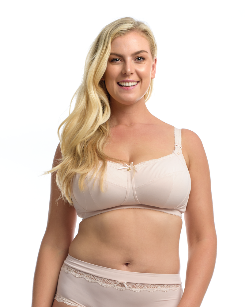 THE ESSENTIAL NURSING BRA: Blush - Full Embrace