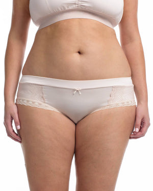 The Lounge Hipster Brief Delicate Blush by Full Embrace