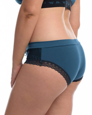 The Lounge Hipster Brief Midnight Blue by Full Embrace