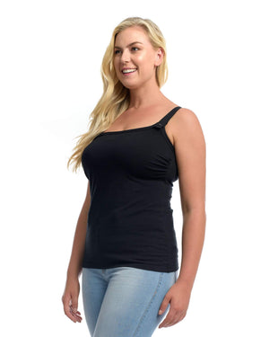 The Essential Nursing Top Black by Full Embrace