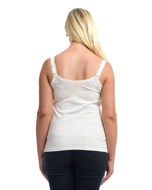 The Essential Nursing Top White by Full Embrace