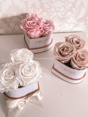 Forever Heart Trio Rose Box