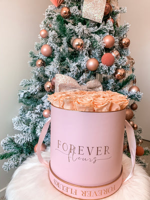 Forever Pink Rose Box - Grand - Forever Fleurs