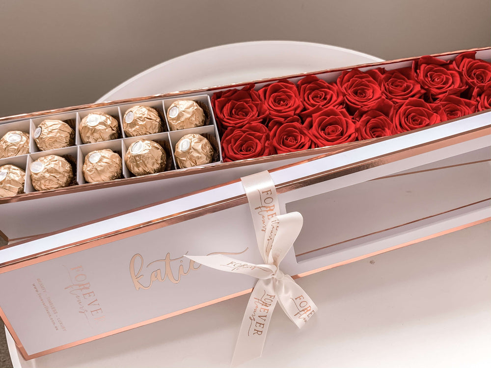 Forever Rose Box -14 Long