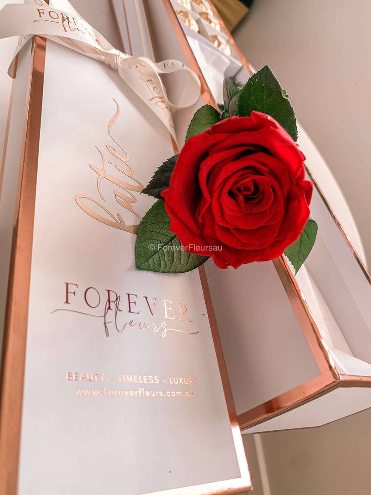 Forever Rose Box - Single Long - Forever Fleurs