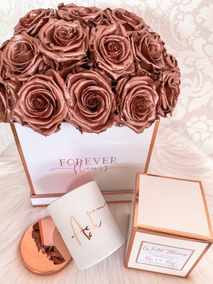 Forever Rose Dome - Medium