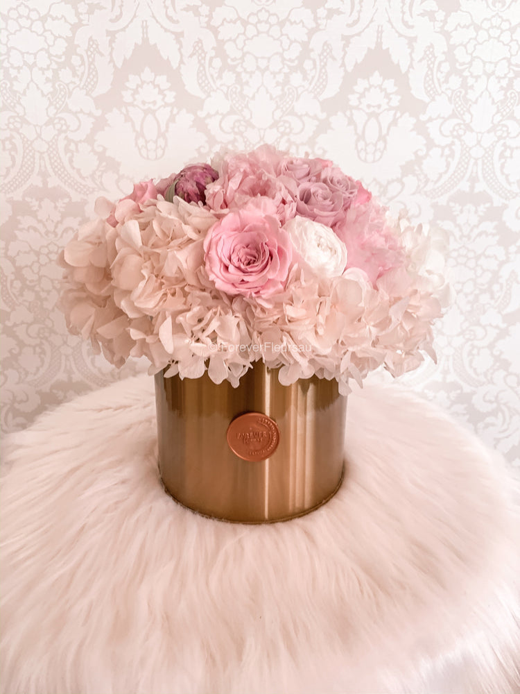 Peony Gold Box - Forever Fleurs