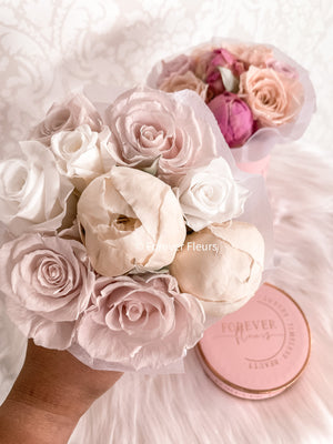 Peony Perfection Pink Box - Mini - Forever Fleurs