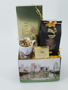 """Pittsburgh North Shore"" Basket"