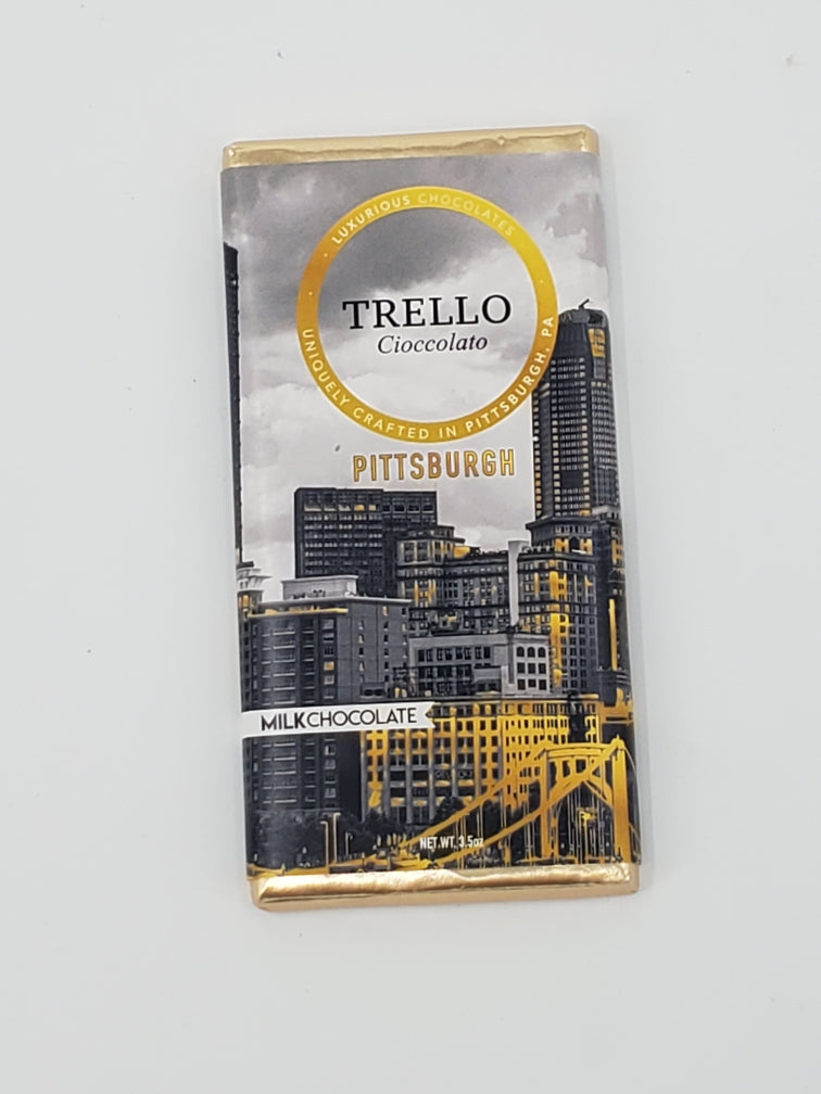 3.5 Oz. Pittsburgh Cityscape, Milk