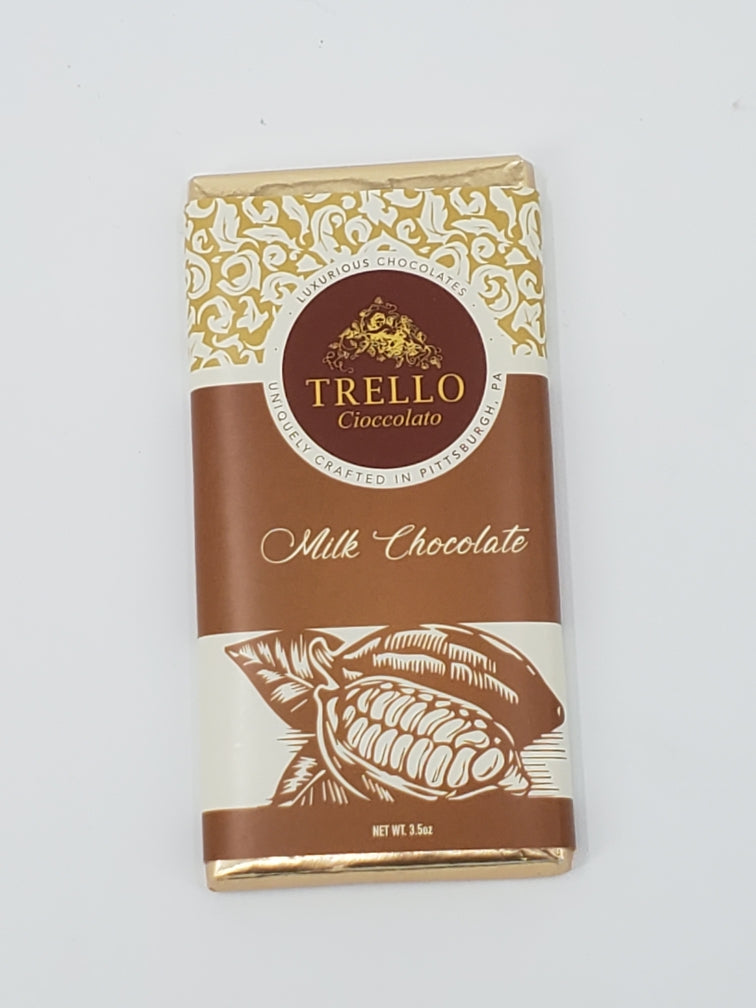 3.5 Oz. Trello Elite Chocolate Bar: Milk