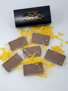 """Box of the Burgh"" Chocolate Business Cards"