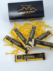 Box of the Burgh - Milk Chocolate Pittsburgh Skyline Bars