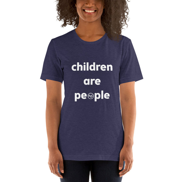 'Children Are People' Short-Sleeve Unisex T (Bella Canvas)
