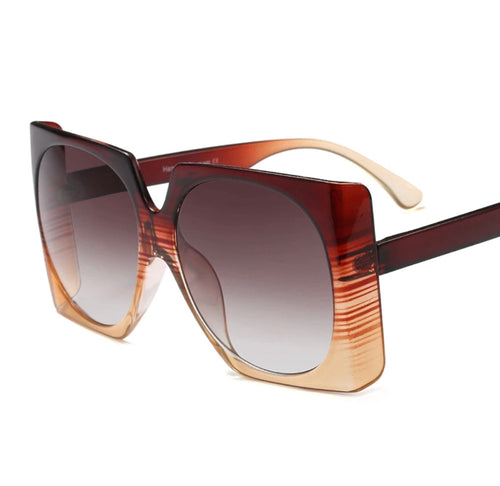 Oversized Square Sunglasses UV400