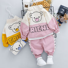 Load image into Gallery viewer, Newborn Infant 2 Piece Clothing Sets Baby Girls Boys Clothes Cartoon Bear T Shirt Pants Children Kids Costume