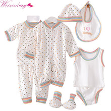 Load image into Gallery viewer, 8PCS Newborn Baby Clothing Set Tracksuit Infant Boy Clothes Children Cloth Suit New Born Toddler Girl Boy baby clothing sets