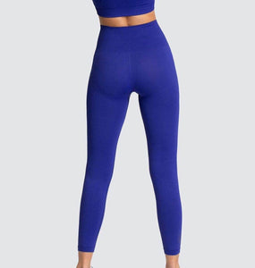 Women's Seamless Hyperflex Stretch Workout Fitness Sports Two Piece 2 Pc Set Sport High Waist Leggings and Sports Bra Top Yoga Outfits Sportswear Athletic Gym Clothes Set