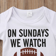Load image into Gallery viewer, Casual Summer Newborn Infant Baby Boy Girl Clothes White Short Sleeve Letter Romper Onsie One-Piece Jumpsuit Playsuit Outfit