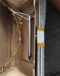 Bling Stack of Money Crossbody Shoulder Handbag